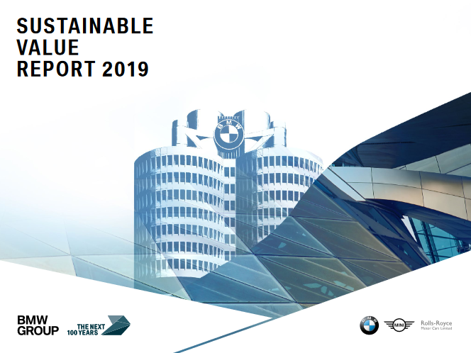 BMW Sustainable Value Report 2019